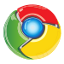 Browser-Logo: Google Chrome