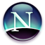 Browser-Logo: Netscape 8
